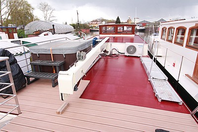 Barge - Unconverted Barge - Hotel Barges De Winter Boom for sale