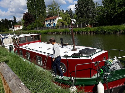 Barge - Unconverted Barge R and Boatbuilder for sale