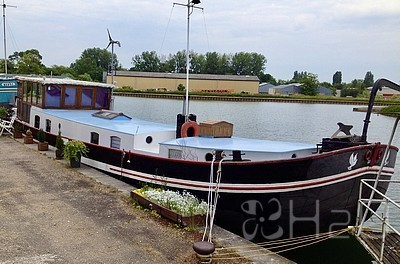 Barge Amsterdam for sale